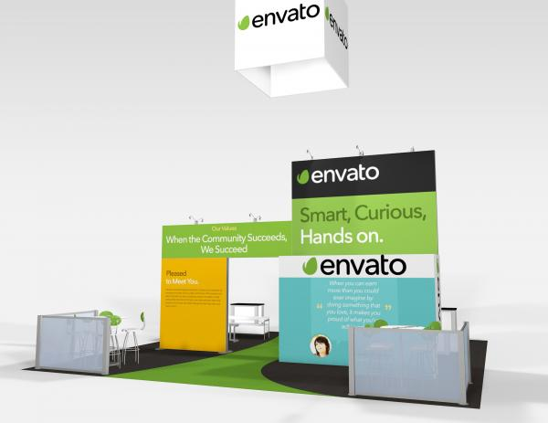 RE-9075 Envato Trade Show Rental Exhibit -- Image 5