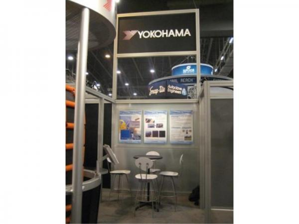 RE-9025 Rental Exhibit / 20� x 20� Island Trade Show Display � Image 9