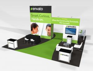 RE-9075 Envato Trade Show Rental Exhibit -- Image 1