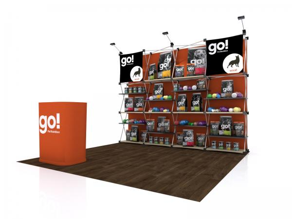 FG-125 Trade Show Pop Up Display -- Version 2c
