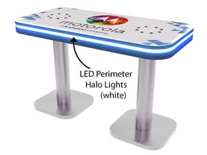InCharg Charging Table for Tradeshows and Events