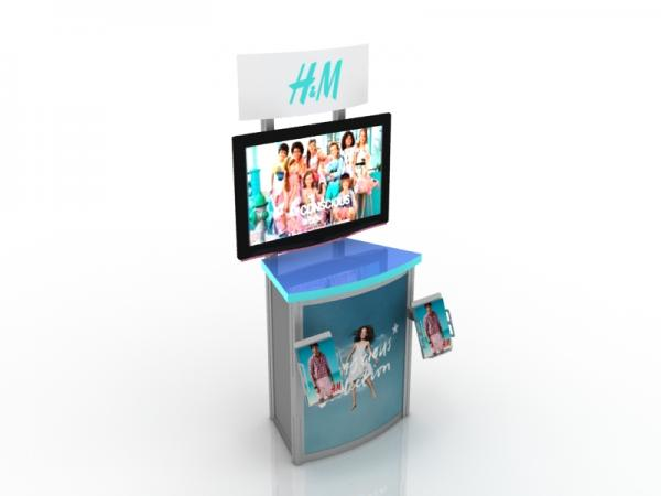 MOD-1249 Workstation/Kiosk for Trade Shows and Events -- Image 3