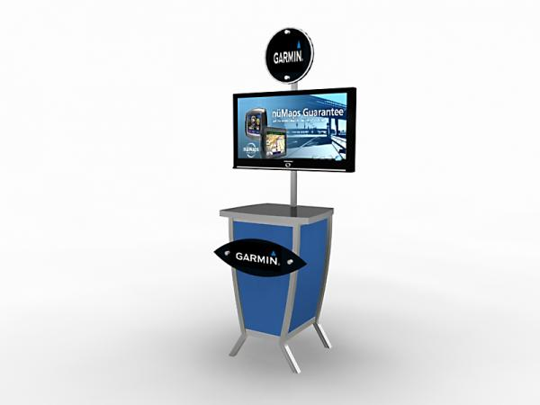MOD-1228 Trade Show Monitor Stand -- Image 1
