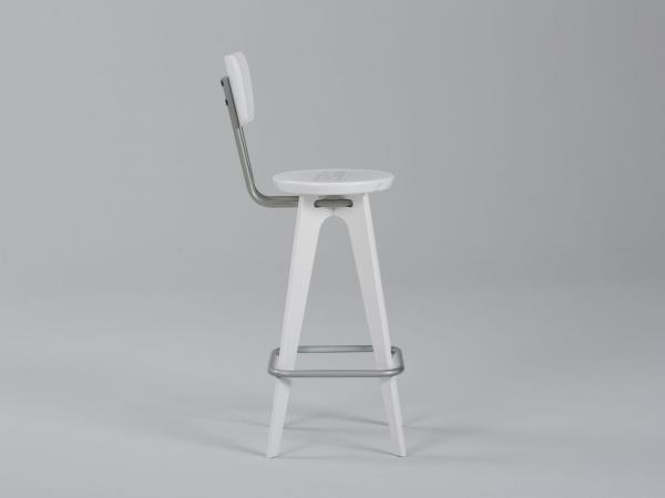 OTM Portable Chair with Seatback -- Side View
