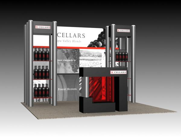 Visionary Designs Trade Show Display