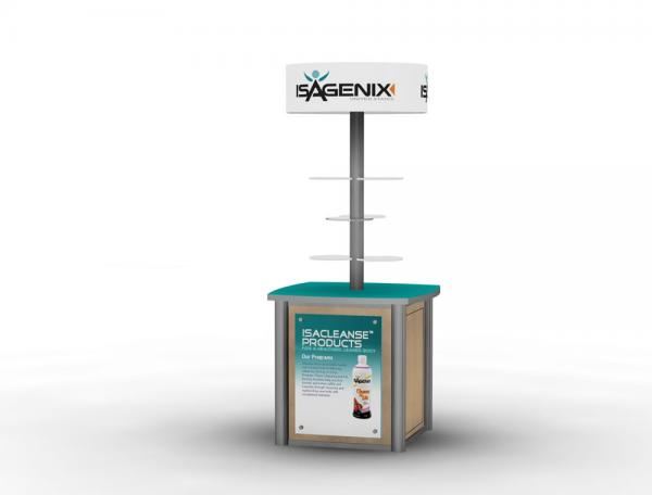MOD-1208 Trade Show or Event Kiosk