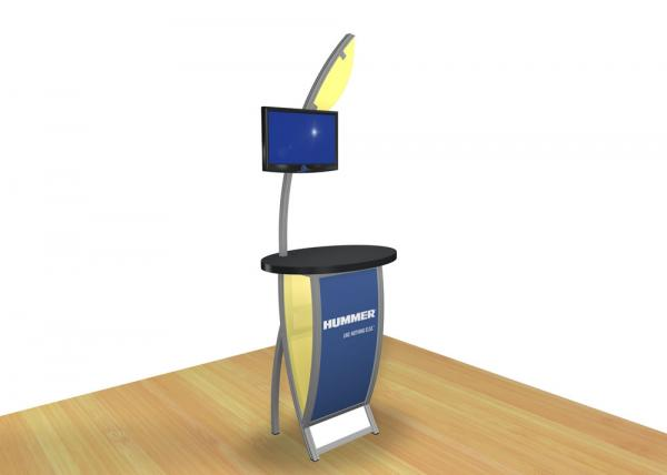 VK-1606 Trade Show Workstation or Kiosk -- Image 1