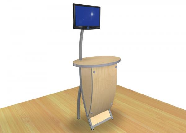 VK-1612 Trade Show Workstation or Kiosk -- Image 1
