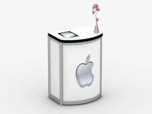 MOD-1288 Modular Pedestal with iPad Tabelt Insert -- Image 1