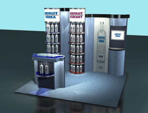LTK-5002 Custom Modular Trade Show Display