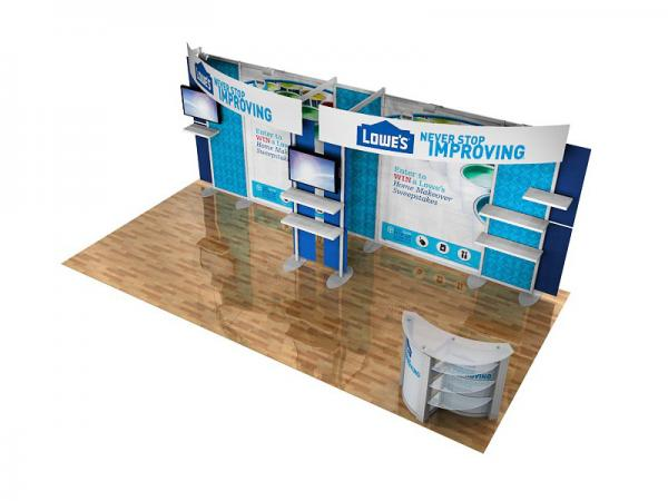 ECO-2056 10' x 20' Sustainable Hybrid Display -- Image 3