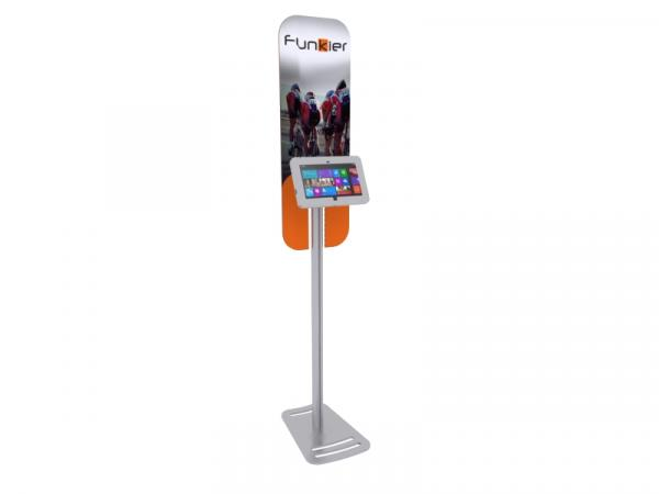 MOD-1369M Portable Surface 2 Kiosk -- Silver