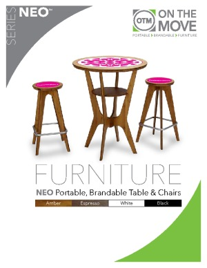 NEO Portable Display Furniture