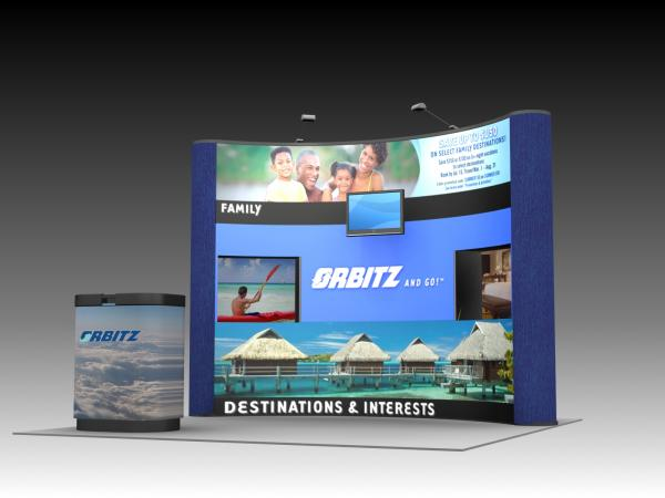 QD-116 Trade Show Pop-up Display -- Image 2