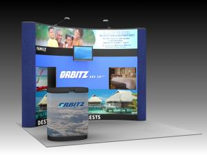 QD-116 Trade Show Pop-up Display