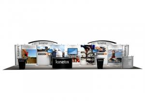 RE-4002 Rental Exhibit / 10� x 40� Inline Trade Show Display � Image 1