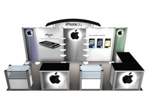 RE-2020 Rental Exhibit / 10� x 20� Inline Trade Show Display � Image 2