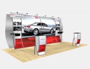 RE-2013 Rental Exhibit / 10� x 20� Inline Trade Show Display � Image 1
