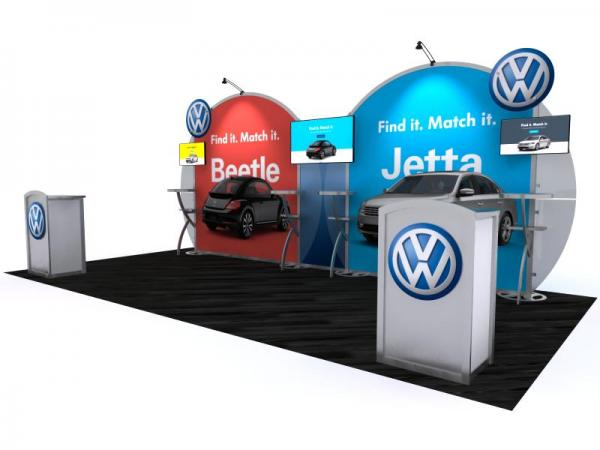 VK-2964 Portable Hybrid Trade Show Exhibit -- Image 2
